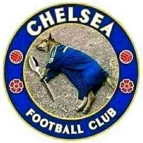 See What People Are Doing To Chelsea Logo After A Major Loss Yesterday Against Bayern Munich - Video