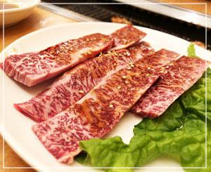 山形駅前「冷麺さくら」、初めて食べたハラミもおいしかったー。