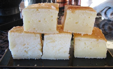 Butter Mochi Cake Recipe, Whats Cooking America