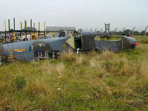 GR.1 fuselage ZA356 Picketston 160902