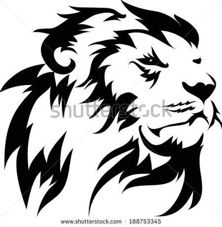 gallery images  information simple lion head outline