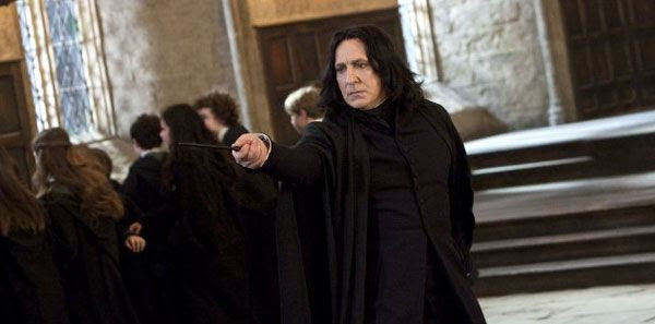 Professor Snape reveals his true intentions in HARRY POTTER AND THE DEATHLY HALLOWS, Part 2.