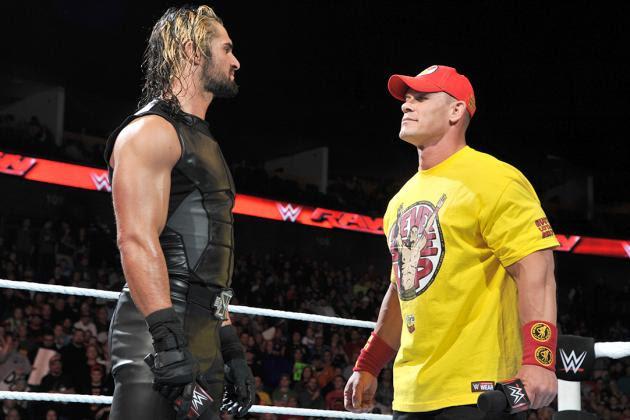 John Cena wyróżnia starania Setha Rollinsa przy rehabilitacji
