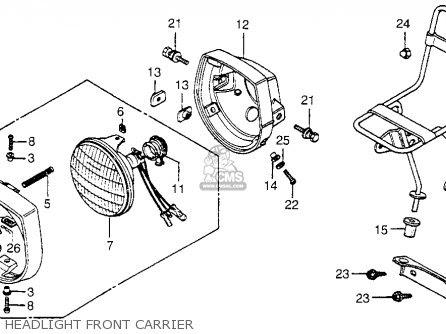 Honda Nc50 Express 1982 (c) Usa parts list partsmanual ...