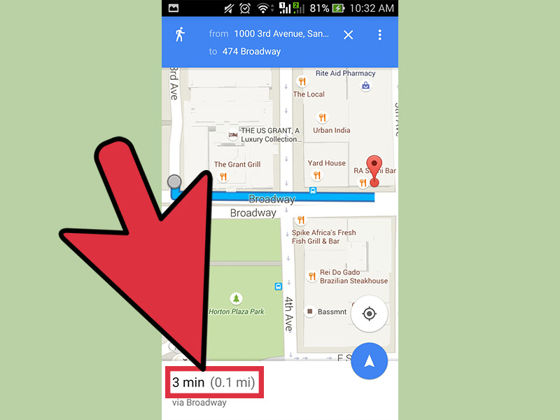 How To Find Walking Distance On Google Maps 10 Steps