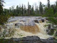 One of several incredible waterfalls.  This is the Temperance River