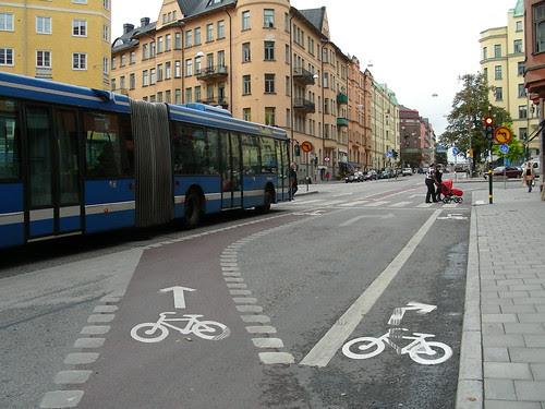 Bicycle Lanes, Stockholm