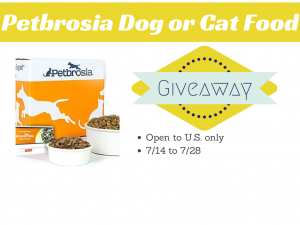Petbrosia Dog or Cat Food