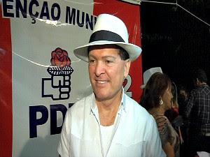 candidato do PDt a prefeito de juazeiro (Foto: TV Verdes Mares/ Reprodução)