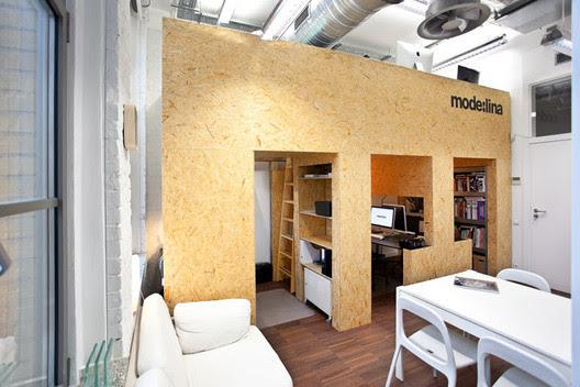 oficinas de Mode:lina. Fotografía: Concordia Design