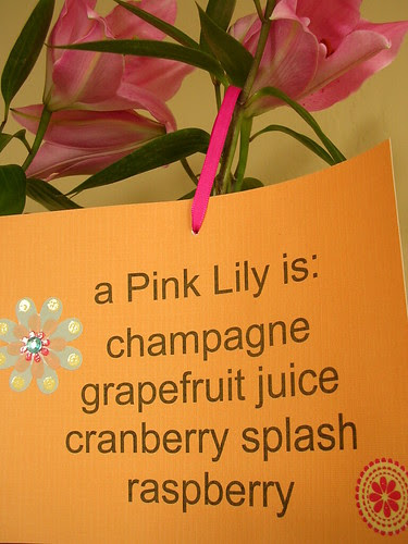 pink lily recipe