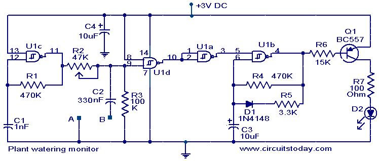 plant-watering-monitor-circuit