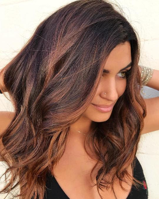 25 Gorgeous Hair Colors For Morena Skin Hairdo Hairstyle