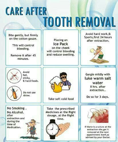care  tooth extractionremoval dental food