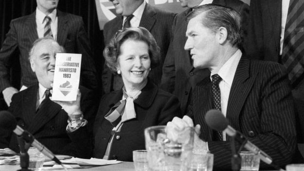 Margaret Thatcher and Cecil Parkinson
