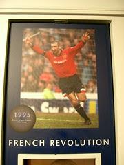 Eric Cantona (Manchester United Museum)