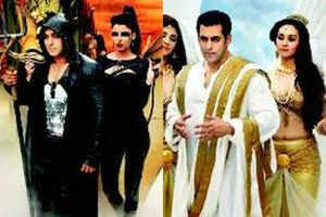 Salman dons Angel & Devil avatar for Bigg Boss 7