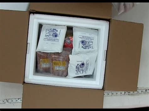 packaging frozen meat youtube