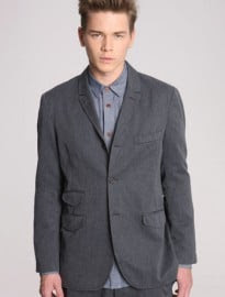 Universal Works Grey Cannock Suit Jacket