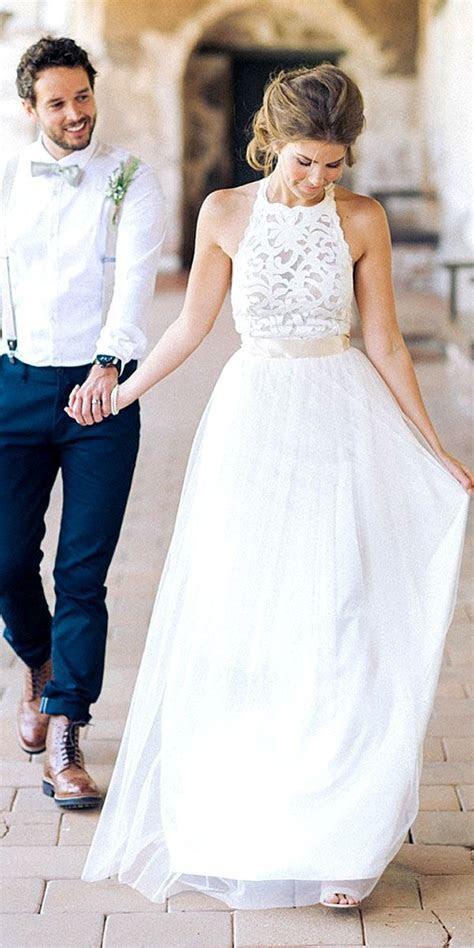 30 Rustic Wedding Dresses For Inspiration   Walker/McGuire