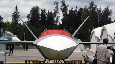 ТАСС: Беспилотник «Гром» будет носителем высокоточных ракет Х-38