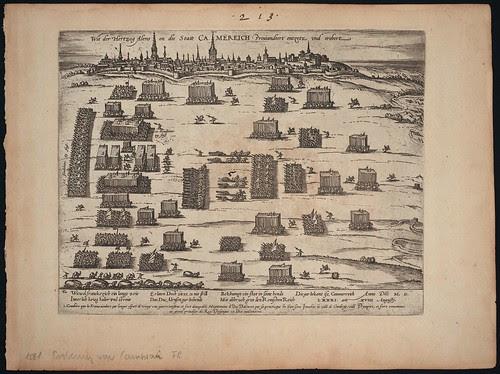 Wie der Hertzog Alenson die Statt Camereich Proviandeert entzetz (c 1581)