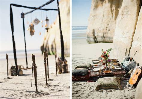 Gorgeous Bohemian Beach Wedding Shoot ? Beach Wedding Tips