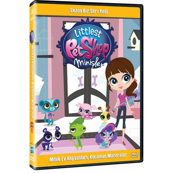 Littlest Pet Shop Minişler Sezon 1 Seri 7