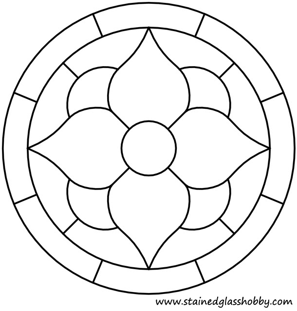 Stained Glass Patterns Easy Stained Glass Ideas