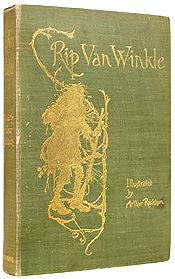 Rip Van Winkle by Washington Irving, with illustrations by Arthur Rackham