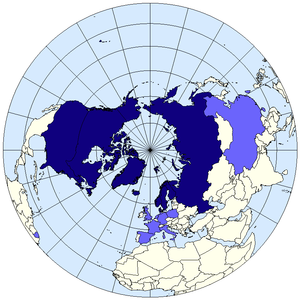 English: The Arctic Council members observers