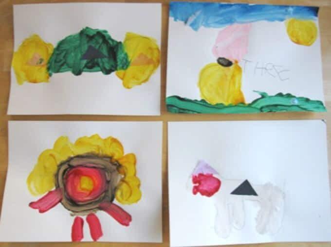 Kids Art Activiteit - Tracing Vormen en Toys