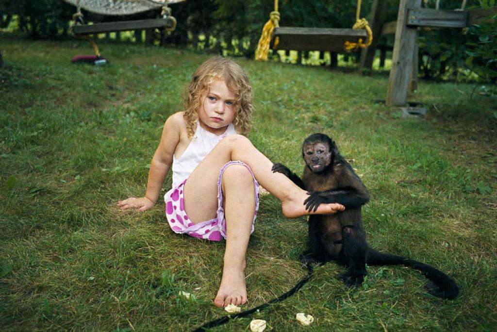 O Mundo de Amelia - A menina que cresceu com os animais e os considera seus irmãos 16