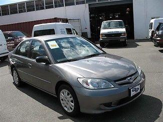 Sell Used 2005 Honda Civic Lx 5 Speed Manual Trans 92451 Miles Cd