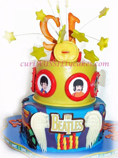 1000  images about Beatles cakes on Pinterest   Cakes