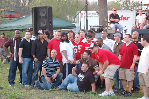The Easton Football team!