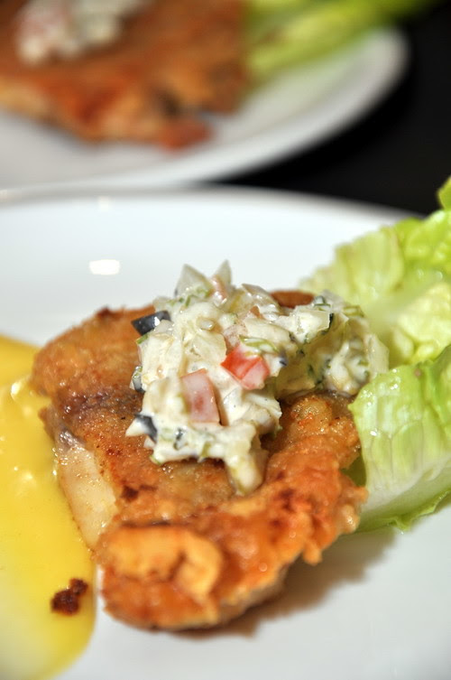 Di Mei Deep Fried Chicken served with Mustard Sauce