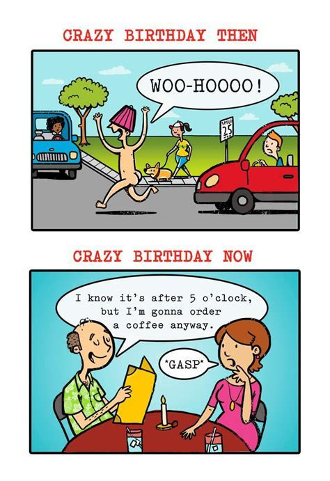 Crazy Birthday Wishes Greeting Card   Greeting Cards