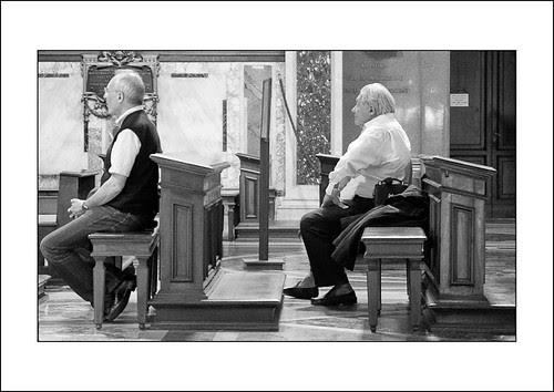 kerkbezoek by hans van egdom
