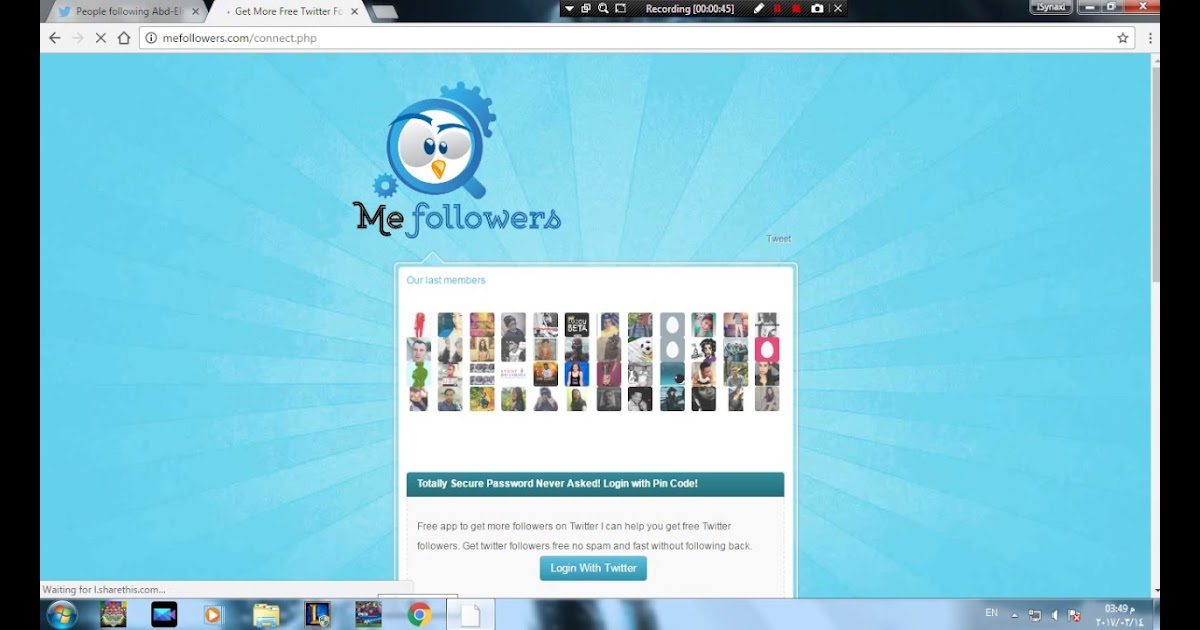 How To Get A Lot Of Followers In Twitter For Free No Ads No