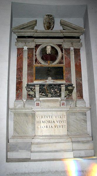 Arkiv: 3205 - Roma - S. Maria degli Angeli - Tomba kort.  Francesco Alciati - Foto Giovanni DALL'ORTO 18-juni-2007.jpg