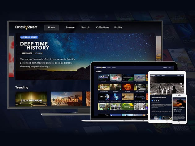 CuriosityStream HD Plan: Lifetime Subscription for $149