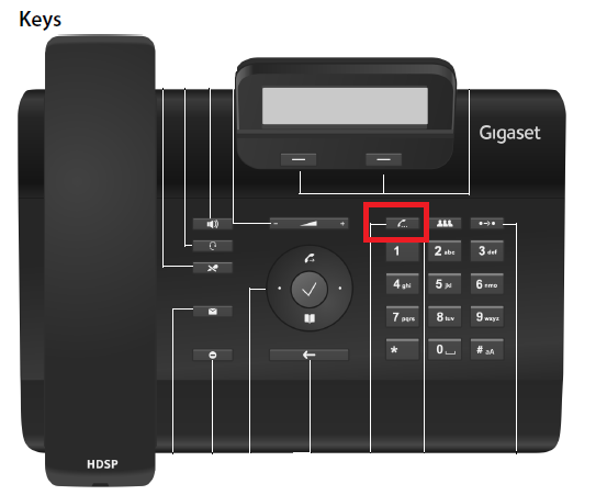 How do I place a call on hold using a Gigaset DESK phone ...