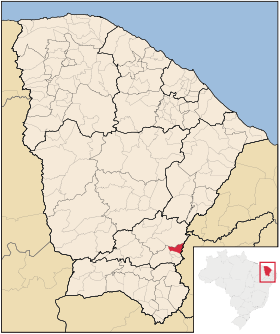 Localização de Umari