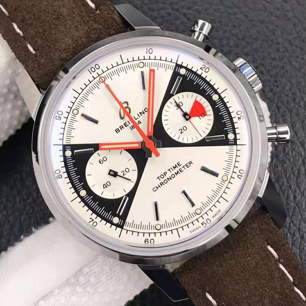 Breitling Top Time White Dial