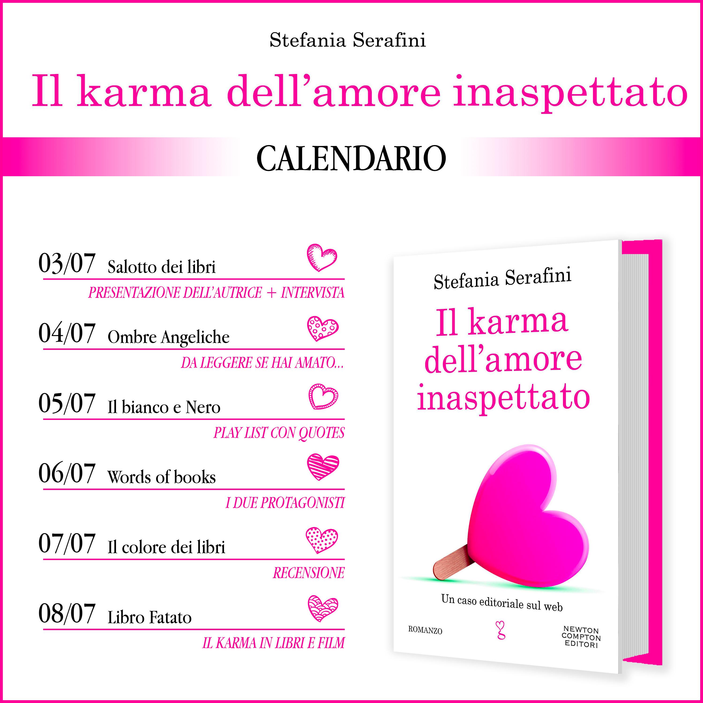 Calendario Il karma dell'amore inaspettato