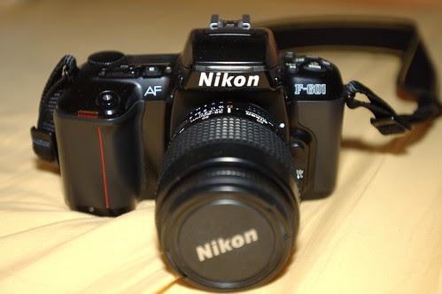 My First Camera: Nikon F601