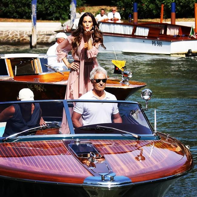 festival de cine de venecia celebrities look estilismo outfit izabel goulart