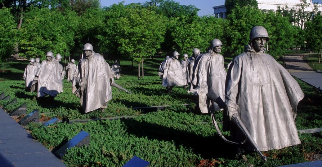 Image result for korean war memorial