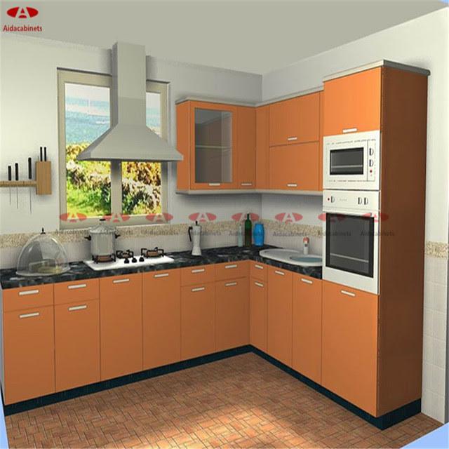 201 304 Stainless steel dinding dapur kabinet gantung